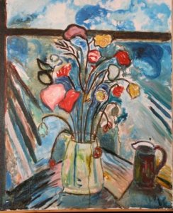 a friendship in flowers - irma freeman