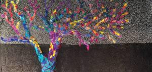 bright hued tree