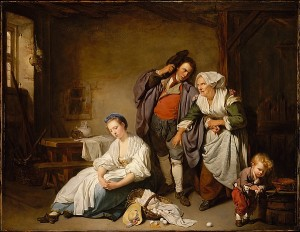 broken eggs by jean-baptiste greuze