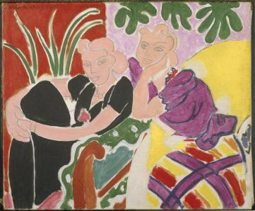 la conversation by henri matisse