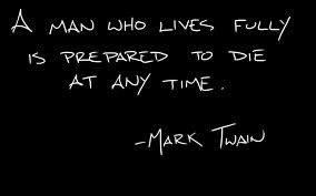 m twain - living