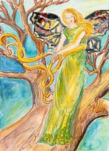 sophia wisdom beauty painting