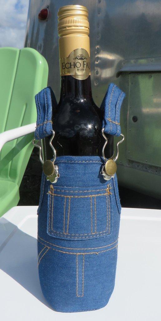 wine bottle overalls